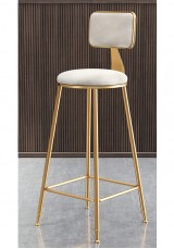 Baldie Bar Stool SH75 Green or White